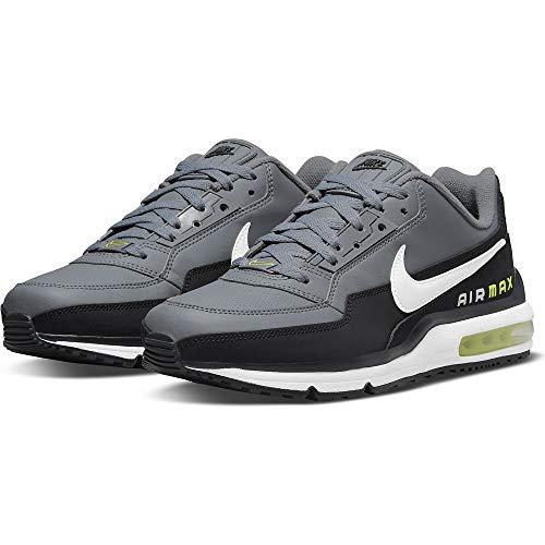 Nike Air MAX LTD 3, Zapatillas para Correr Hombre, Black White Smoke Grey Volt, 42 EU