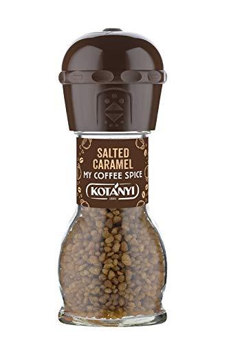 Kotanyi Salted Caramel Kaffee Topping | feiner Karamellgeschmack, 4er Pack (4 x 65g)