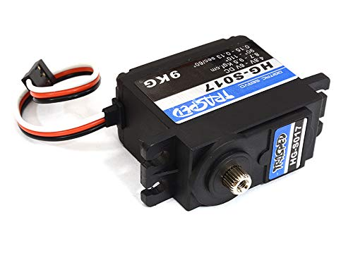 Integy RC Model Hop-ups C29023 Replacement 9kg Steering Servo HM-DZ016 for HG-P602 1/12 6X6 RC Military Cougar