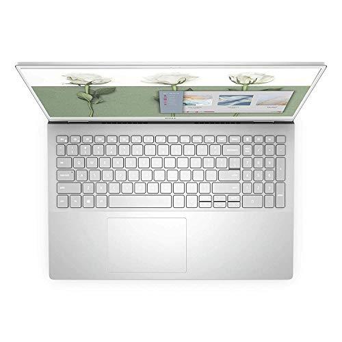 Dell Inspiron 5502 15.6-inch FHD Laptop (11th Gen Core i7-1165G7/8GB RAM/512GB SSD/2GB MX330 Graphics/Windows 10 + MS Office Laptop),Platinum Silver