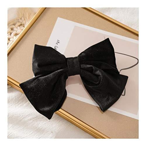 YUNGYE Big Hair Bow Ties Barrettes en Satin avec Deux Couches Papillon Bow Hairpin Fille Accessoires Cheveux for Les Femmes Bowknot Hairpins (Color :