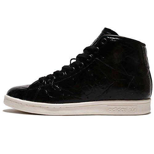 Adidas Wmn Stan Smith Mid Black White Größe: 4,5(37?) Farbe: Black