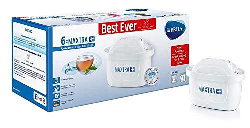 Brita Filtro de agua Systems Ltd | Filtros de agua Brita Maxtra Plus | 1 x 6 pack