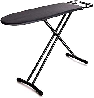 RTSFKFS Table à Repasser Planche de Repassage Gris/Noir/Marron pour Le Repassage Rapide, la Table de Repassage en métal, a...