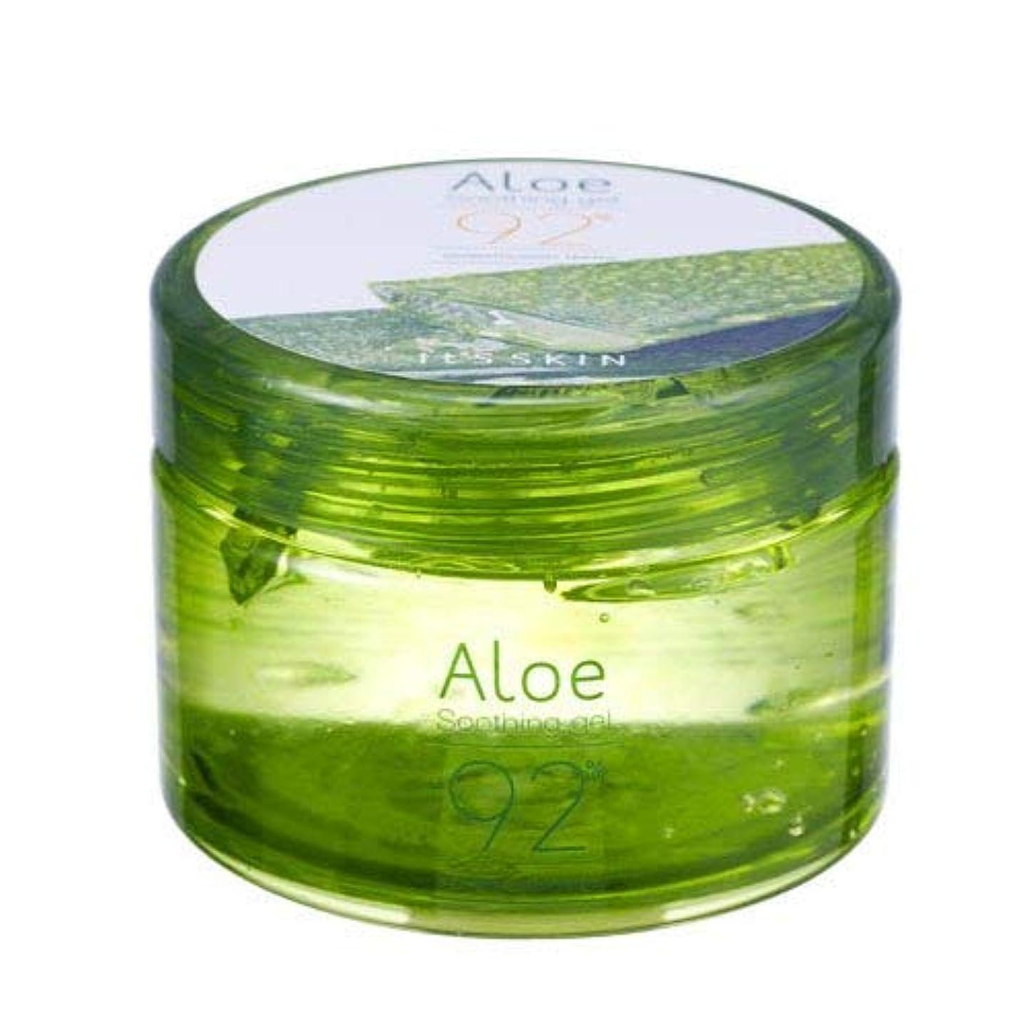 糸順番時々Its skin Aloe Soothing Gel 92% 200ml イッツスキン アロエ果肉スージングジェル92% 200ml [並行輸入品]