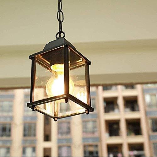 FAGavin Lámpara de araña al aire libre, jardín patio parque patio entrada patio iluminación lámpara estándar E27