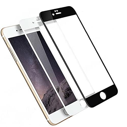 15D 9H Vidrio templado para iPhone SE 2020 6 6S 7 8 Plus Protector de pantalla para iPhone 12 mini 11 Pro XS Max X XR Película protectora de vidrio, para iphone 12, negro