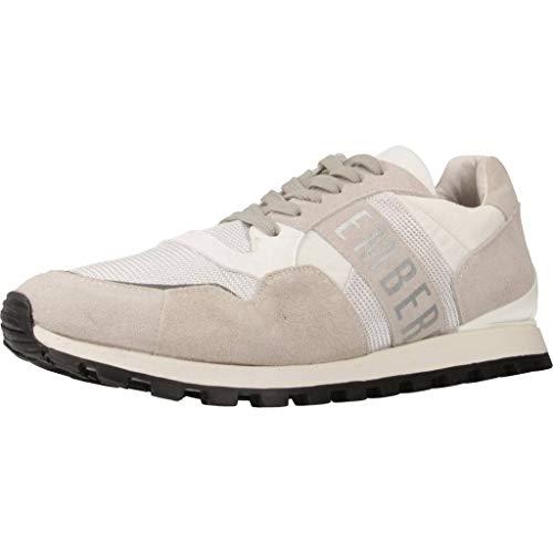 BIKKEMBERGS Herren Sneakers Weiß, Modell: Fend-ER, Größe:43