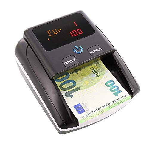 Monepass D8X - Détecteur de faux billets avec 8 systèmes de détection et une fiabilité de 100% (tests BCE)