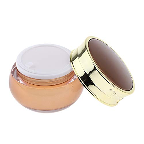 Fenteer Pot Cosmétique Vides Flacon Maquillage en Acrylique Bouteilles Voyage pour Visage Lotion Crème Poudres Baume À Lèvres Poudres - 50g