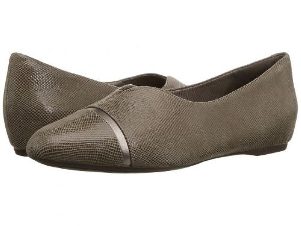 日帰り旅行にトン損失Rockport(ロックポート) レディース 女性用 シューズ 靴 フラット Total Motion 20mm V-Cap Ballet - Taupe [並行輸入品]