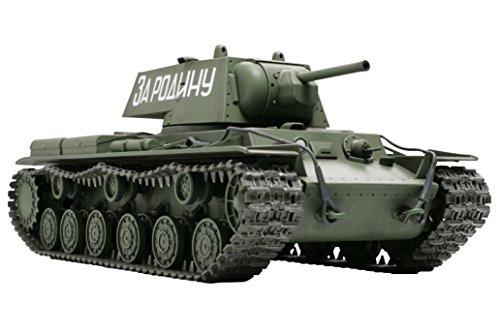 タミヤ 1/48 ミリタリーミニチュアシリーズ No.35 ソビエト陸軍 KV-1 重戦車 プラモデル 32535