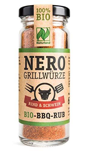 Nero - Grillgewürz Rind und Schwein - Bio BBQ Rub (60 g)