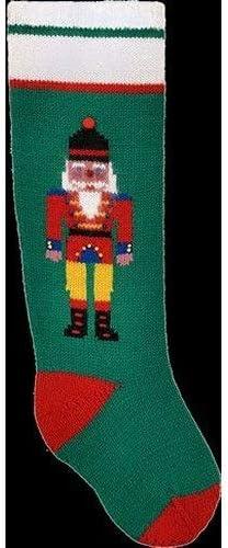 Googleheims Christmas Stocking Kit Nutcracker Knitting Ranking TOP6 Regular discount for Green