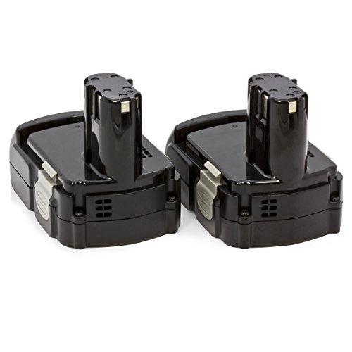 2 x ExpertPower 18v 1500mAh Li-ion Battery for Hitachi BCL1815 EBM1830