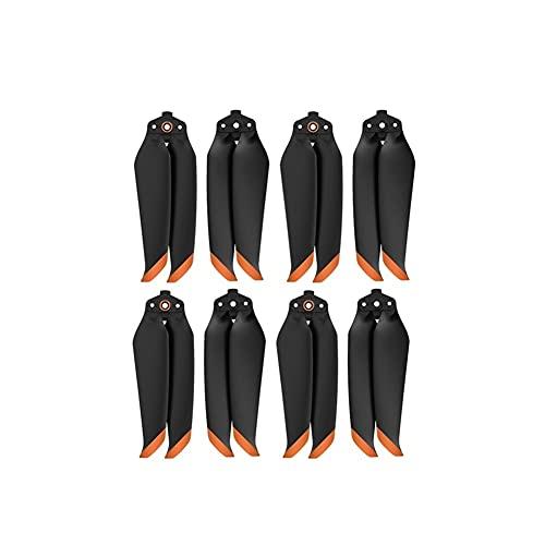 GEBAN Eliche per D& Ji per Mavic Air 2/ per D& Ji Air 2S Accessori per Droni 4 Paia 7238 Eliche A Basso Rumore 7238F Accessori droni (Color : 4 Pairs Orange)