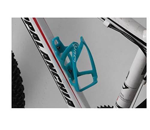 Staffa per gabbia per bevande Bottiglia della bicicletta della gabbia bici Porta Bottiglia della bicicletta del supporto della bottiglia Bike Gabbie Rack Accessori per biciclette ( Color : Sky Blue )