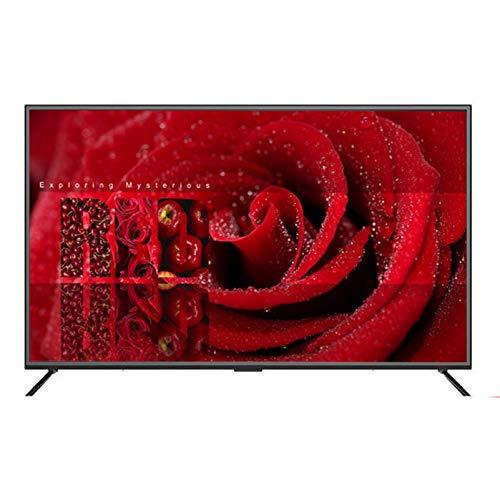 TV LCD de Red Inteligente de 32/46/50/55/60/65 Pulgadas, UHD 4K HDR 10 TV ultradelgada con Pantalla LED Ultra Clara Anti-Azul, Smart TV Android, Interfaz USB/VGA/HDMI/AV/Cable/WiFi