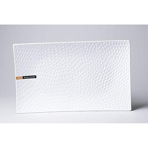 Plat rectangle DUNE 30X18cm