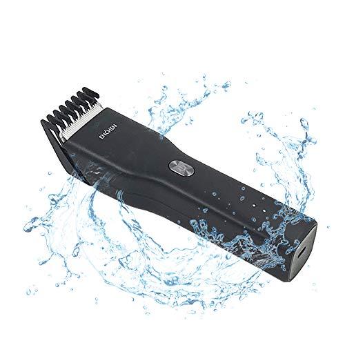 Tondeuse à Cheveux pour Hommes USB C Chargeur Tondeuse Sans Fil Tondeuse à Cheveux et Barbe Rechargeable Rasoir de Toilettage Coupeuse en Céramique Coupeur de Cheveux 0.7-21mm de Longueur Ajustable