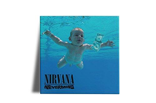 Azulejo Decorativo Nirvana Nevermind 15x15