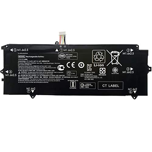 Laqueena MG04XL Laptop Replacement Battery for Hp Elite X2 1012 G1 Series Notebook MG04 HSTNN-DB7F 812060-2B1 812060-2C1 812205-001 7.7V 40WH/4820MAH 4-Cell