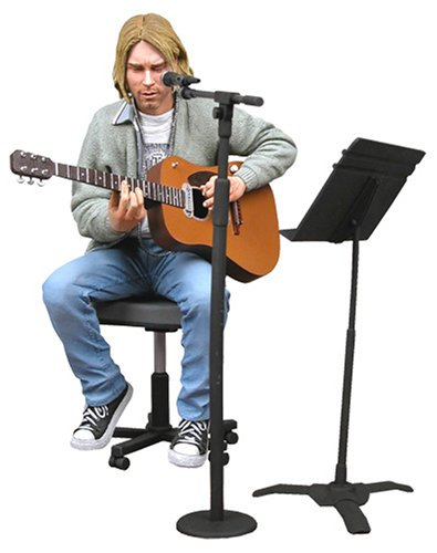 Nirvana - Action Figure: Kurt Cobain [Unplugged] 1993 by NEKA