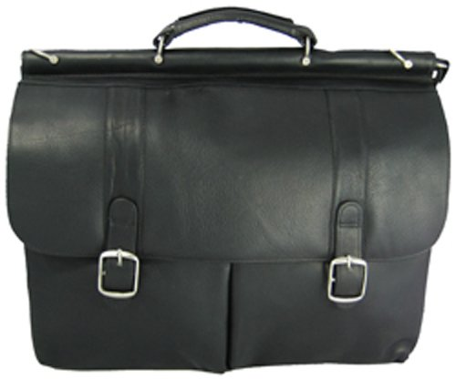 David King & Co. Dowel Laptoptasche, schwarz, One Size