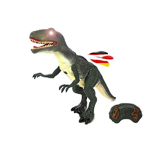 HSP Himoto Dinosaurio teledirigido con funcin de caminar, efectos de sonido y efectos de luz, incluye control remoto