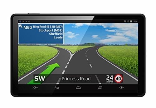 Aguri Motorhome & Caravan AGR520 DVR 5\' Motorhome and Caravan Sat Nav with Built-in Dash Cam, Wi-Fi and UK & European mapping.