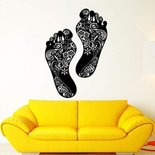 Schritte Piktogramm Muster Schöne Kunst Vinyl Applique Wandtattoo Wand Wohnkultur Schlafzimmer Tapete 74x28cm