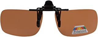 Eyekepper Small Polarized Flip up Sunglasses Clip on