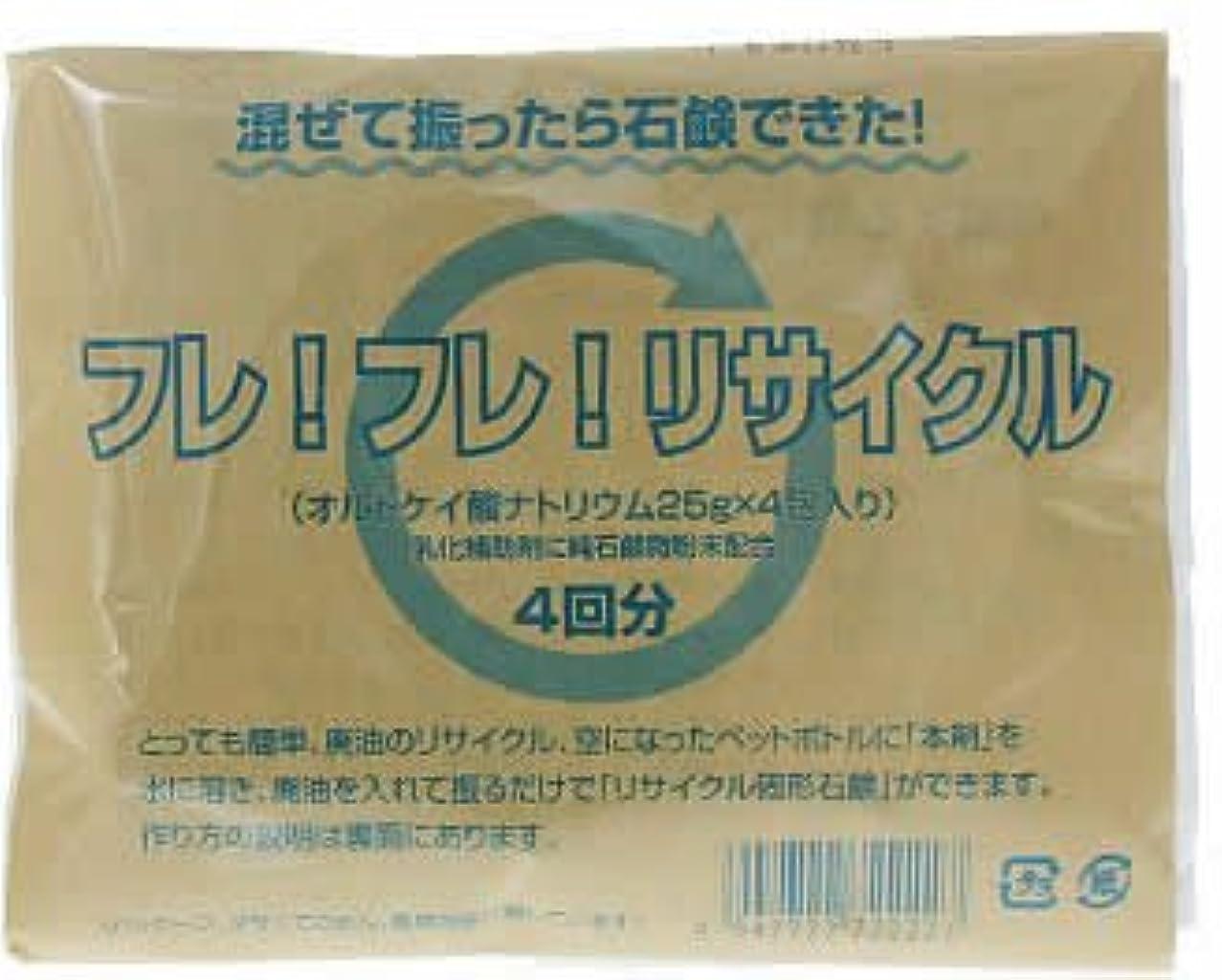 ホテル消毒剤飽和するねば塾 フレフレリサイクル(25g*4包入)