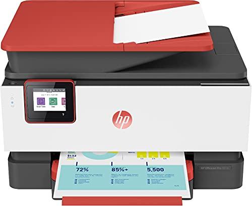 HP OfficeJet Pro 9016 3UK86B Stampante Multifunzione A4 a Getto di Inchiostro, Stampa, Scansiona, Fotocopia, Fax, Wifi, HP Smart, Stampa fronte retro automatica, 2 Mesi di Instant Ink Inclusi, Coral