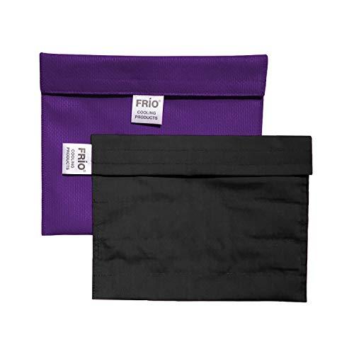 FRIO Kühltasche für Insulin, 21 x 15cm, lila - KEIN Eispack oder Batterien nötig, für bis zu 9 Insulinpens in Standardgröße ODER eine Kombinationen von Pens, Ampullen oder Patronen ODER 4 Epi Pens