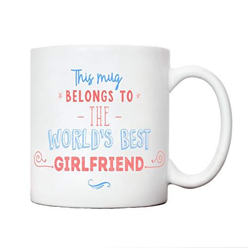 Worlds best girlfriend mug   girl friend gift ideas  ...