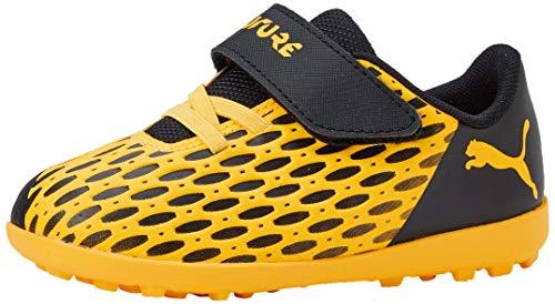 PUMA Unisex-Kinder Future 5.4 Tt V Inf Botas de fútbol, Gelb (Ultra Yellow Black), 27 EU