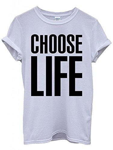 Choose Life Wham Slogan T-shirt, Unisex, S to XXL