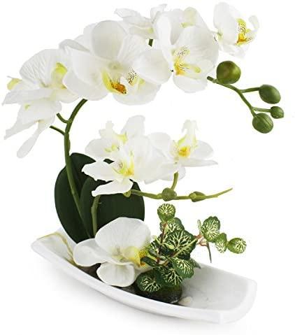 Centros de mesa con flores artificiales _image4