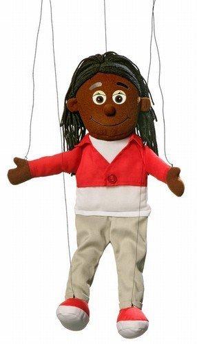Sierra Black Girl Marionette String Puppet