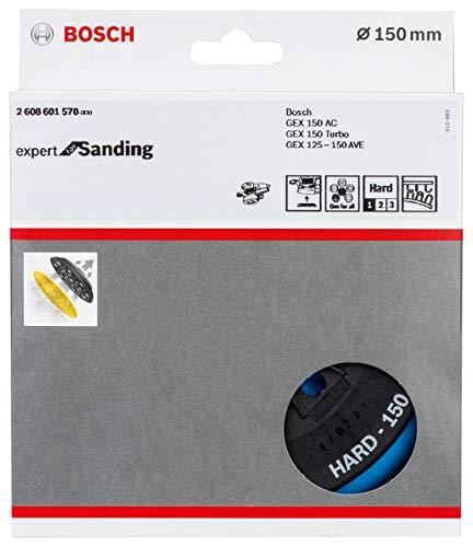 Bosch Professional Multi-Loch Schleifteller (Ø 150 mm, hart, Klett, Zubehör Exzenterschleifer)