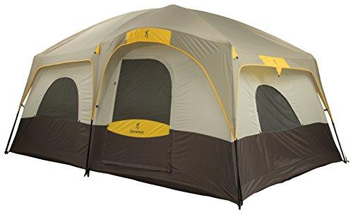Browning Camping Big Horn Two-Room Tent, Black/Orange