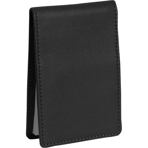 Royce Leather Flip Style Note Jotter - Black