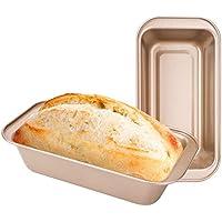 2-Pack Beasea Nonstick Golden Loaf Baking Pans