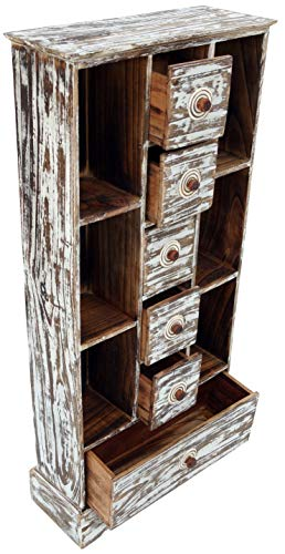Guru-Shop Lade/CD-kast - Model 7, Bruin, 100x45x18 cm, Kleine Kasten