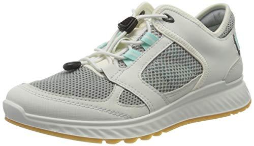 Ecco Damen EXOSTRIDEW Sneaker, Weiß (Shadow White/Eggshell Blue 51777), 41 EU