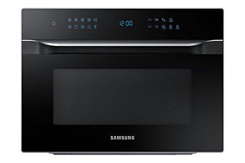 Samsung Hotblast Microonde con Grill XXL e Piatto Doratore, 35 l, Argento