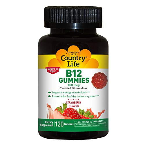 Country Life B 12 Gummies 120 Gummy