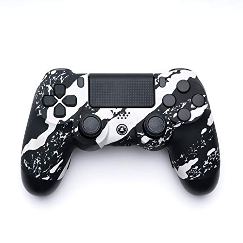 AimControllers PS4 Custom Wireless Controller, PlayStation 4 Personalized Gamepad with 4 Paddles [video game] [video game]