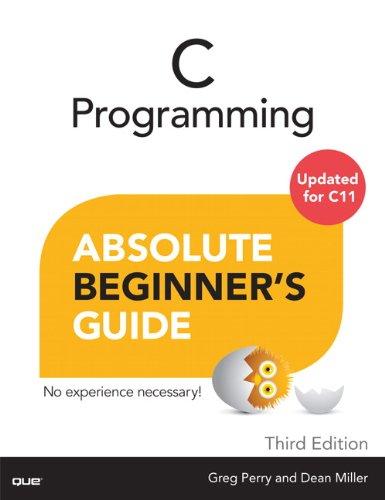 C Programming Absolute Beginner's Guide